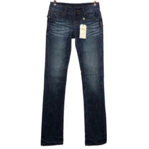 NWT BUFFALO Jazz Straight Leg Jeans in Dark Wash